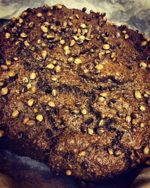 Hemp Nut Bread or Muffins Recipe
