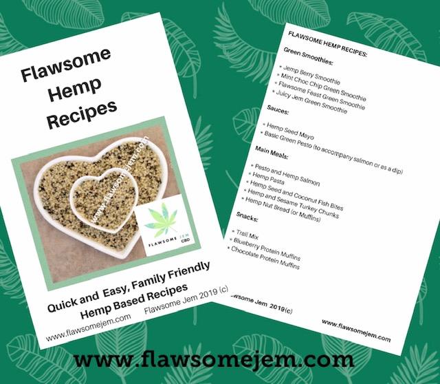 Hemp based Recipe Books