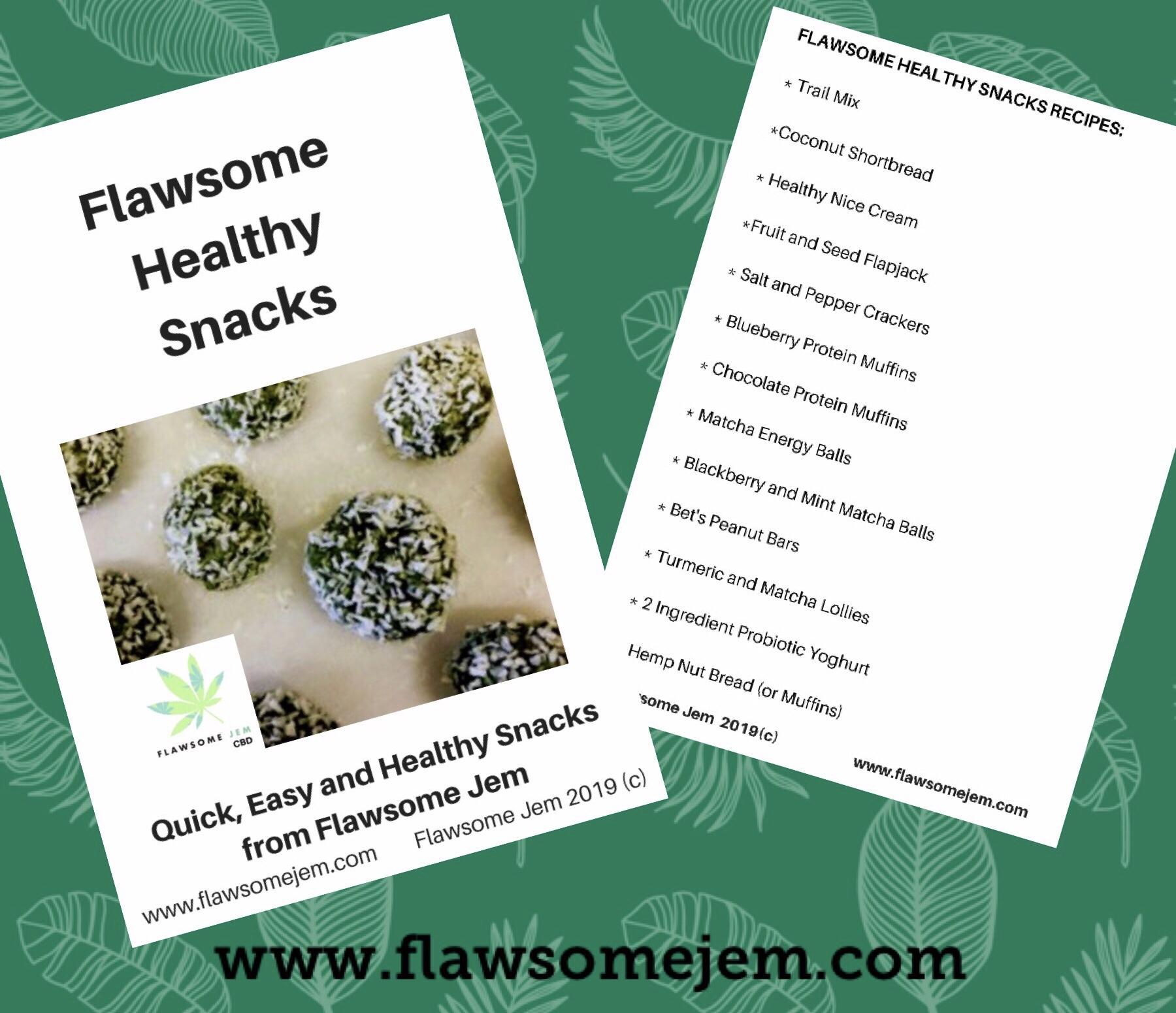 Flawsome Snack Recipes