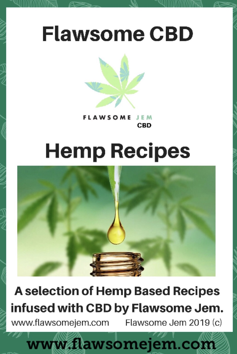 Cooking with CBD & Recipes Book