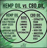 CBD Oil and Hemp Seed Oil, what is the difference?